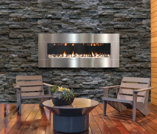 Solas Outdoor Gas Fireplace